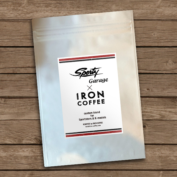 Sporty Garage × IRON COFFEE